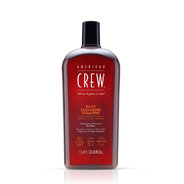 american crew daily cleansing shampoo