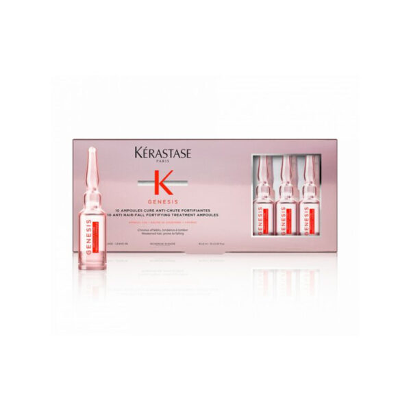 ampoules cure anti chute fortifiant